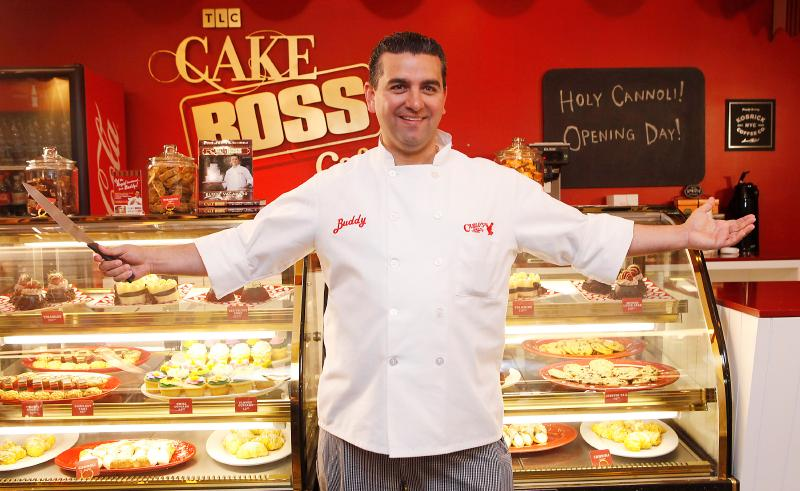 TLC's Buddy Valastro (The Cake Boss) Opens The Cake Boss Cafe At