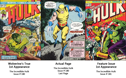 Wolverine's First Appearance