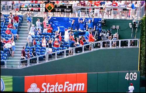 Baseball Announcer Catches Homerun Live on TV