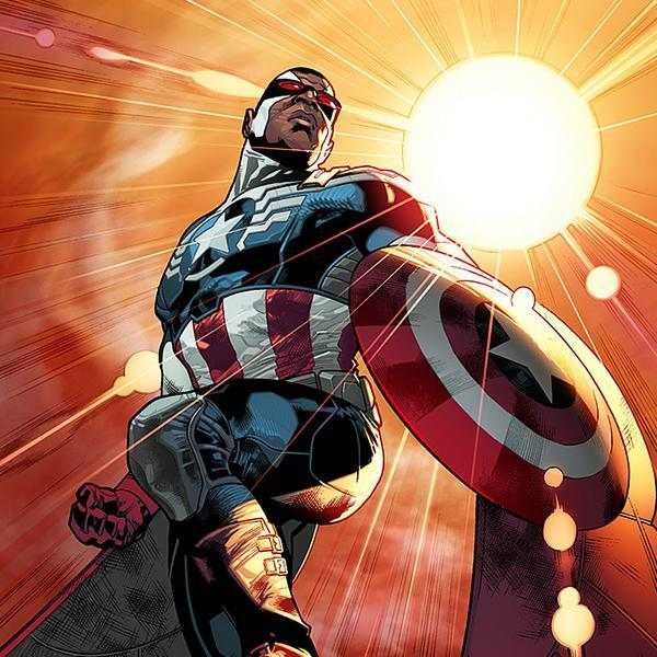 Sam Wilson a Black Captain America