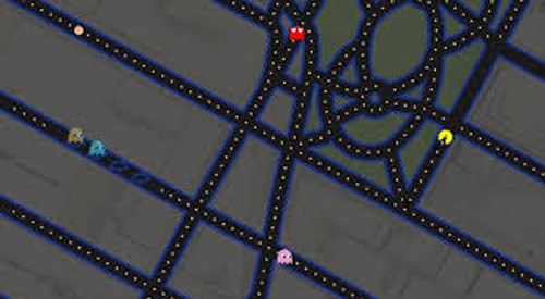 Google-Maps-Pac-Man