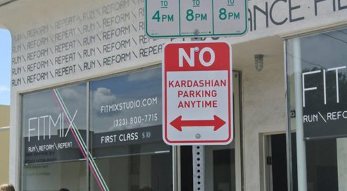 Kardashian-parking