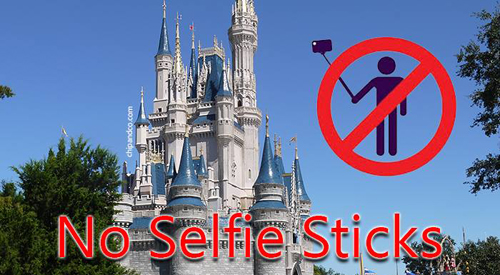 disney theme parks announce a ban on selfie sticks. Black Bedroom Furniture Sets. Home Design Ideas