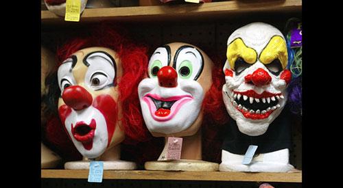 clown-masks